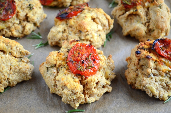 Rosemary Cheddar Biscuits