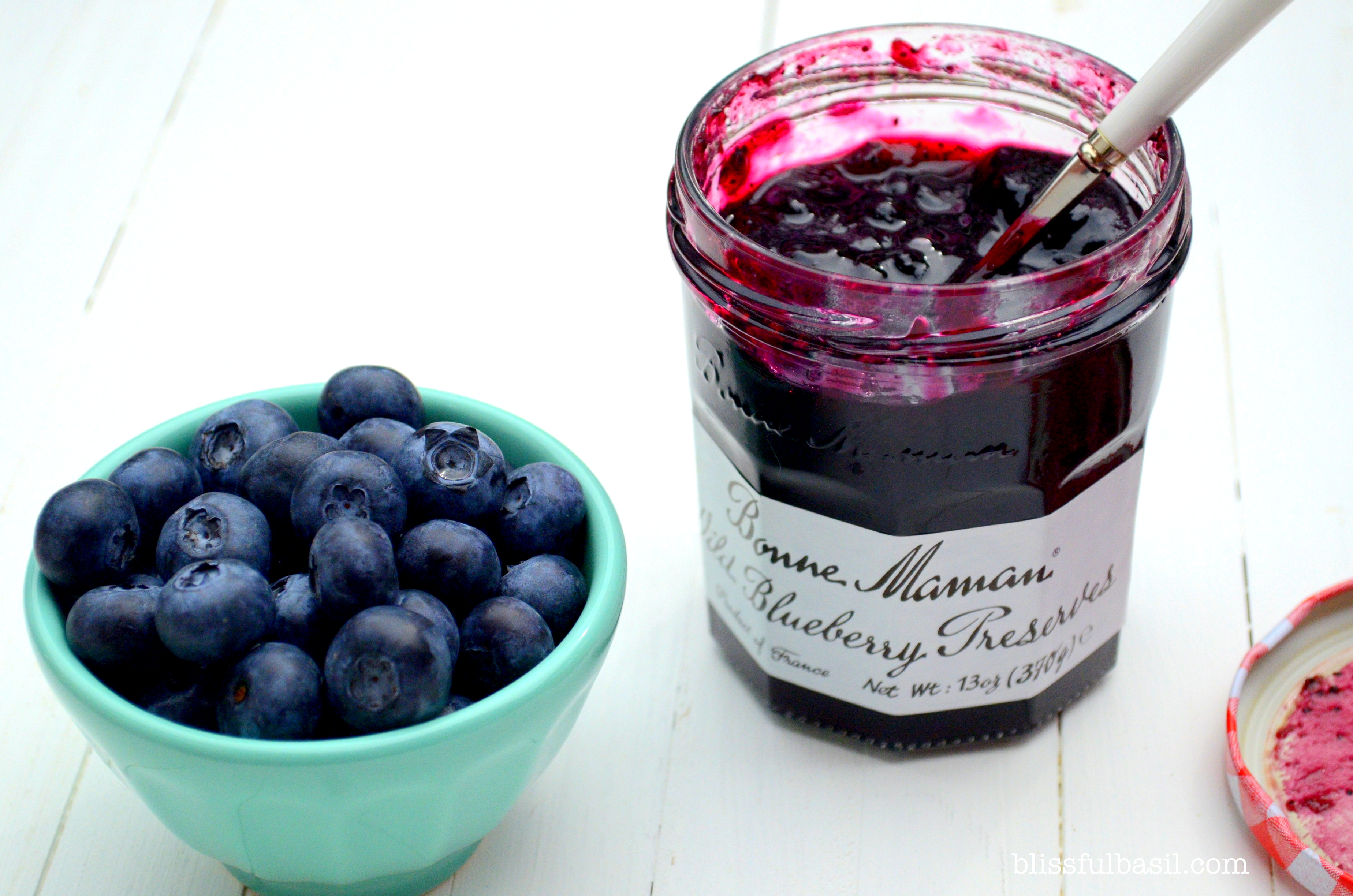 Blueberries and Blueberry Preserves